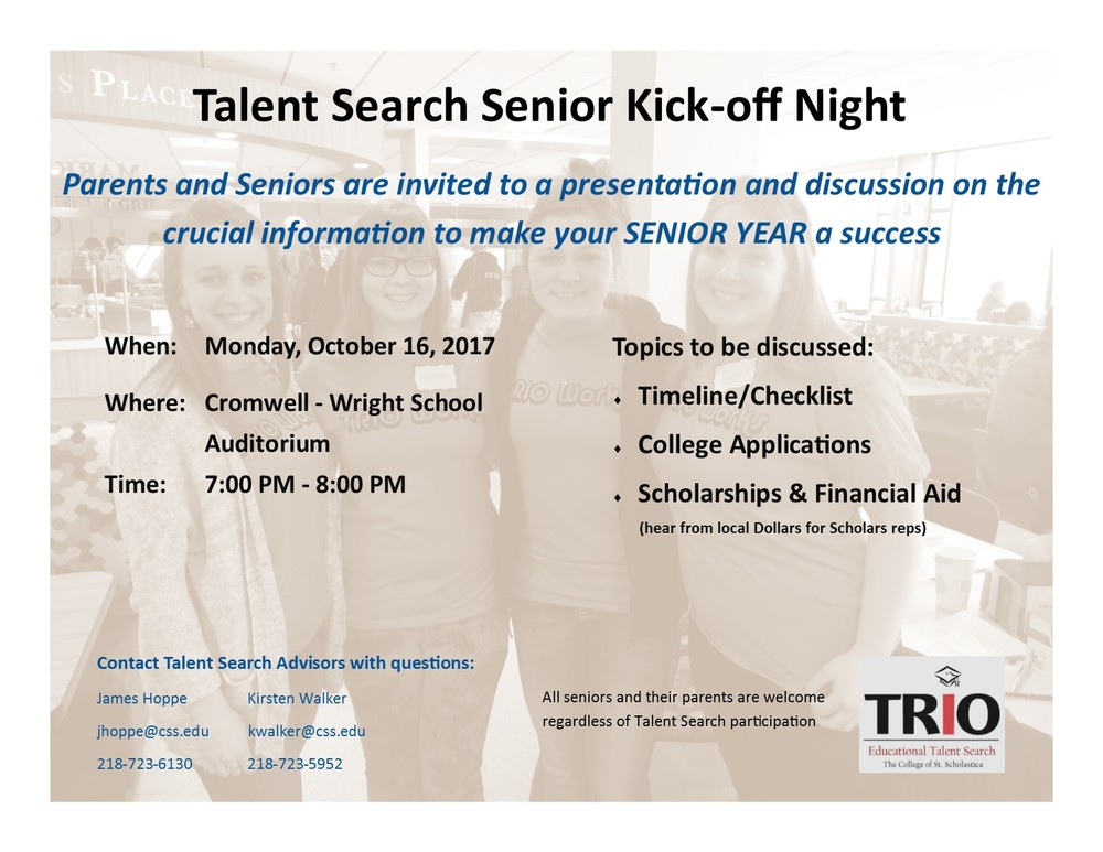 Senior Kick-off Night