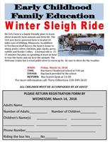 ECFE Winter Sleigh Ride