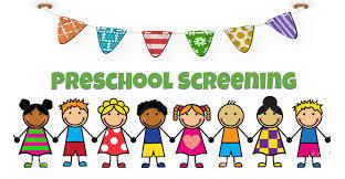 Preschool Screening - Friday, March 5th