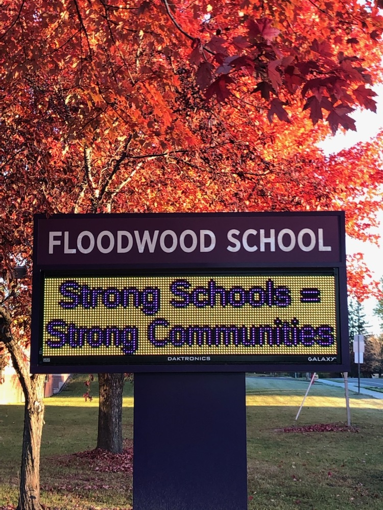 Good Morning from Floodwood School!