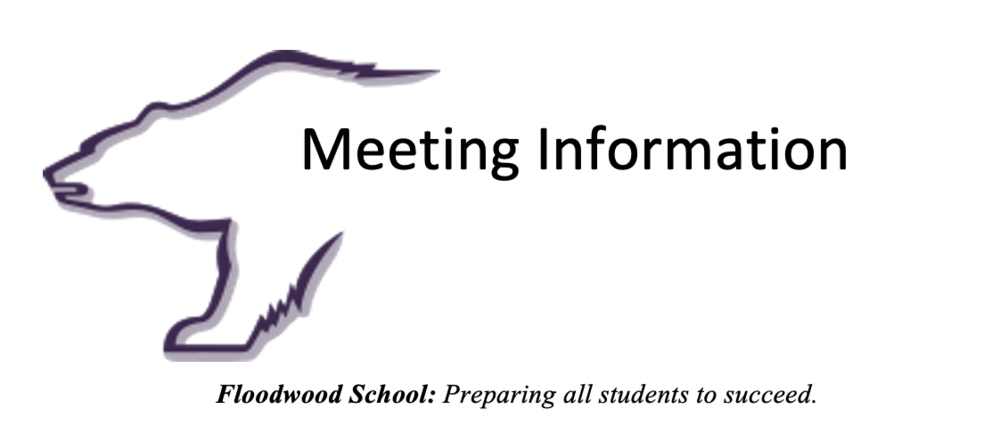 Notice of Next Regular School Board Meeting