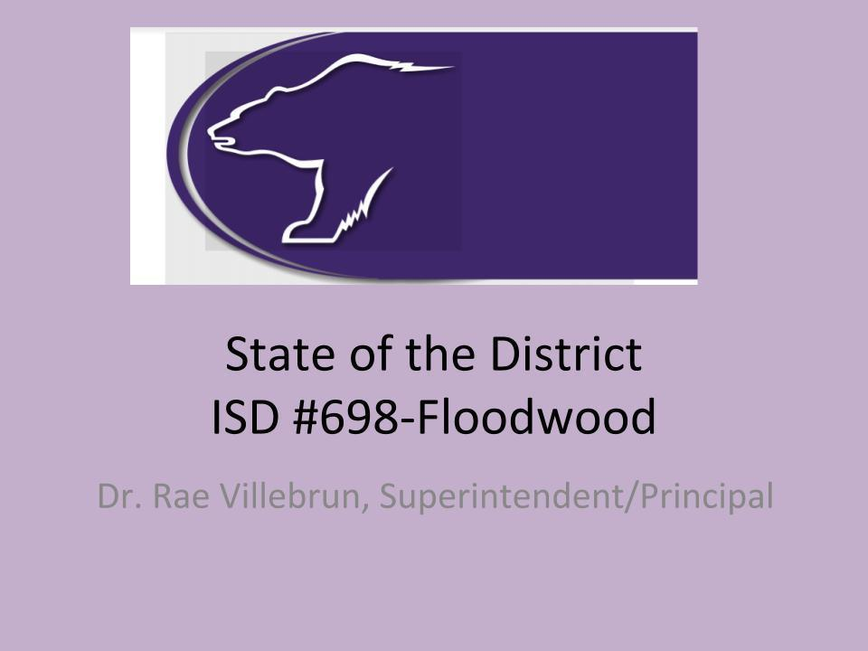 State of the District (updated 1/9/19)