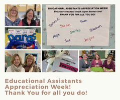 Educational Assistants Appreciation!