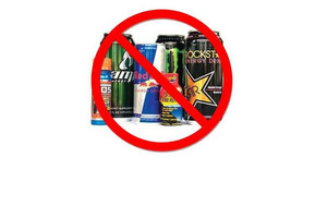 Energy Drinks are not allowed