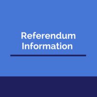 Referendum Informational Meeting - Friday, Sept 28th at 5:30PM