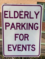 Elderly Parking Now Available