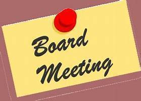 School Board Meeting Notice