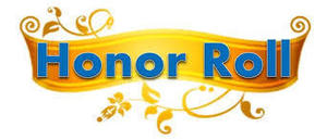 Quarter One Honor Roll
