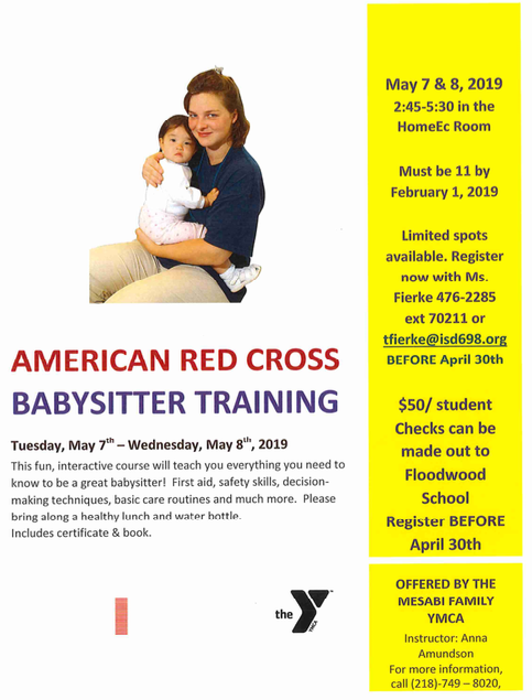 Red Cross Babysitting Training
